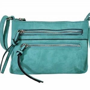 Handbags - Faux leather cross body bag in TEAL